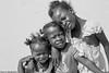 MADA7101 (étoile du matin) Tags: madagascar enfant sourire visage noir et blanc
