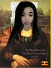 The Black Mona Lisa, The Black Pearl of Africa - ReadyMade by Leonardi Da Vinci, Artist Impression 11/17/17, original Edition 1/20 printed on glossy photo paper 250 gram, signed by the Artist 11-17-17 (KrooneGallery) Tags: the black mona lisa pearl africa ready made da vinci artist impression marcel duchamp uganda kroonegallery original edition 120 leonardo readymade
