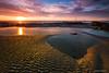 Atardecer en la Playa de las Canteras (juanma pelegrin) Tags: chipiona cadiz playadelascanteras atardecer landscape canon5diii canon1635f4 filter haida hitech paisaje
