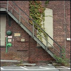 Brooklyn Navy Yard, NYC. (setpower1) Tags: newyorkcity nyc brooklyn hasselblad500cm kodakportra400 vintagefilmcamera 120film mediumformatcamera brooklynnavyyard ohny openhousenewyork