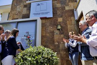 Inauguración de la nueva oficina de la CNR en Chillán
