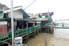 ferry along the Chao Phraya River (_gem_) Tags: travel bangkok thailand asia southeastasia chaophrayariver river chaophraya water boat watercraft transportation vehicle city street urban