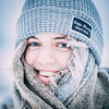 Wrapped up_sq (Gareth R O Dawes) Tags: daughter girl hat wool scarf snow oensingen switzerland schweiz suisse suiza svizzera lana cold blue eyes natural naturallight overexposed nieve neige