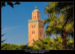 Koutoubia Mosque (Hagens_world) Tags: marokko architecture marrakesch mosque africa afrika architektur maroc marrakech marrakesh morocco moschee arquitectura medina marrakeschsafi canon canoneos5dmarkiii mar