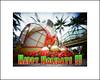 Wishing All a Happy and Wonderful Holiday Season! (art y fotos) Tags: lebambolemkxv weekendpinholecamera kodakektar100 christmasdecorations poinsettia coconut trees niu alamoanashoppingcenter honolulu oahu hawaii homemade handmade bambole bamboo pinhole bamboopinholecamera mediumformat 6x45 120 film