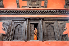 .Temple Népalais   ..       Varanasi  2017 (geolis06) Tags: geolis06 asia asie inde india uttarpradesh varanasi benares népale nepalese gange ganga ghat inde2017 olympus colorful couleur temple brahman brahmane