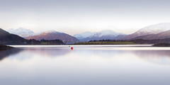 Loch Leven to Ballacluish (pixellesley) Tags: scotland lochleven still calm dawn snow mist quiet daybreak long exposure tranquil landscape seascape lesleygooding mountains forest village