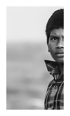 Indian Child Portrait (Angelo Petrozza) Tags: india indian child children blackandwhite biancoenero bw tamilnadu chennai madras south marina angelopetrozza pentaxk20d 55300f458