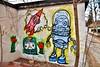 Murals, Columbus Parkette, Dundas West and Sorauren Ave, Toronto, ON (Snuffy) Tags: murals streetartgallery columbusparkette toronto ontario canada dundas street west sorauren avenue dundasstreetwestandsoraurenavenue level1photographyforrecreation