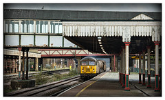 North Wales Gridlock (david.hayes77) Tags: colas grid class56 56113 56096 rhyl wales northwales 3s71 rhtt 2017 leafbuster networkrail nr coast lnwr denbighshire seagull