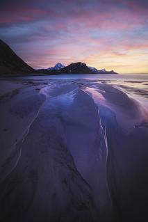 Hauckland's beach, Lofoten