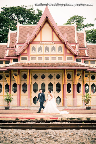 Hua HIn Railways Station Wedding Photography
