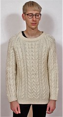 Irish aran fisherman wool sweater (Mytwist) Tags: aran aranstyle aranjumper aransweater authentic arran bulky cream ivory irish ireland dublin fashion fetish fisherman fuzzy unisex wool warm woolfetish winter wolle woolfreaks design donegal fishermansweater grobstrick handgestrickt handcraft handknit heritage vintage vouge velour viking retro pullover passion pulli love laine timeless traditional woolen cabled craft classic cables chunky cable modern outfit knitted pure brickvintage hand jumper husband unwantetgift gift unwanted qx