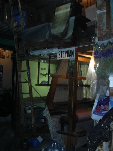 Damaksus, Jaquard Webstuhl bei Stephan