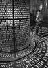 Lost in Words II (jen.ivana) Tags: bw monochrome night town street architecture word light black white