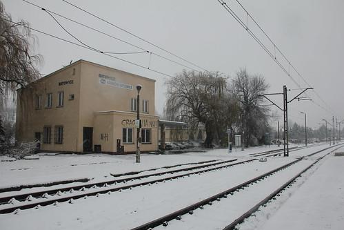 Station building , Kraków Batowice train station 30.11.2017