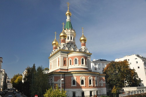 Wien, Russisch-Orthodoxe Kathedrale zum heiligen Nikolaus (russisch Кафедральный собор Святителя Николая в Вене) (1899)