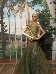 Angel Harp2 (annesstuff) Tags: annesstuff doll fashiondoll fashionfairytale fairytale dollconvention orlando integritytoys jasonwu angelharp christmas erin fashionroyalty nuface