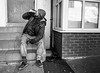 a country that works for everyone (streetstory) Tags: blackpool england 2017 socialdocumentary bw streetphotography ricohgr acountrythatworksforeveryonenotjusttheprivilegedfew z zz