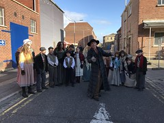 The Victorian Festival of Christmas (Karen Roe) Tags: portsmouth victorian festival christmas hampshire county england britain uk unitedkingdom greatbritain gb iphone apple mobile phone december 2017 outside winter weather season camera photography photograph photographer picture image snap shot photo karenroe female flickr visit visitor street entertainer