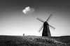 A Cloud Hanging Over My Head (TS446Photo) Tags: cloud weather windmill nikon zeiss field mono monochrome black white noiretblanc light shadows