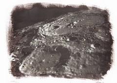 The Moon, salt print (Mark Dries) Tags: markguitarphoto markdries saltprint alternativetechnique altproc moon sun silver digitalnegative
