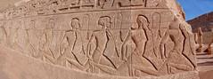 Abu Simbel (Porschista) Tags: abusimbel prisioneros egipte enemigos