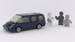 VW Sharan/ Ford Galaxy /Seat Alhambra (ron_dayes) Tags: vw sharan lego seat alhambra ford galaxy minifig scale modular town 1 43