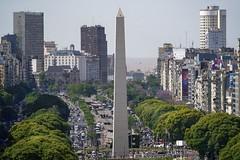 Vista al río (karinavera) Tags: city photography cityscape urban ilcea7m2 9dejulio caba argentina street buenosaires obelisco