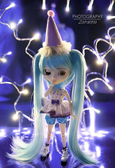 Circus Lights (Pullip Rei Ayanami)) (Zatannilla) Tags: pullip pullips pretty planning doll dolly circus pulliprei rei ayanami toys toy groove dollz evangelion pullipevangelion pullipreiayanami