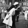 It is an image that captured an epic moment in U.S history - a soldier locked in a passionate kiss 💋 with a nurse 👩‍⚕️ in New York City's 🌃 Time Square at the end of the World 🌎 War ll. (maripavletich) Tags: adults americans asianhistoricalevent celebrating celebration clothing customsandcelebrations energy enthusiasm females group halflength happiness historicevent interaction japanesehistoricalevent joy kissing males manhattan medicalpractitioner men midatlantic midtownmanhattan military militarypersonnel newyorkcity newyorkstate northamerica northamericans nurse outfit passion people publicsquare sailor surrender surrenderofjapan1945 timessquare uniform usa victory war whites women worldwarii19391945 youngadultman youngadultwoman youngadults