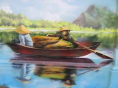 Vietnam - South Vietnam - Ho Chi Minh City - Street art in District 1 - Boat (JulesFoto) Tags: vietnam hochiminhcity saigon boat streetart mural