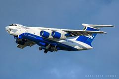 Silk Way IL-76 - CDG (Karl-Eric Lenne) Tags: