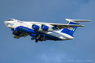 Silk Way IL-76 - CDG