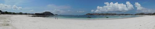 Lombok - plage de Mawun
