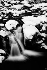 (MatteoSartori95) Tags: bnw winter snow waterfall nikon d750 river mountain calm nature