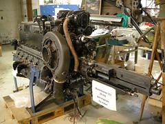 Me109 G2  WrkNr 14055  NI + BY (flyhistorie) Tags: daimlerbenz db605 v12 luftwaffe flymuseum aeroengine mg151 jærmuseet exhebition messerschmitt bf109 me109 restoration vintage