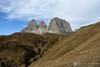 Sassolungo e passo Sella (AvventureInSella) Tags: sassolungo dolomiti montagna panorama tourdelledolomiti