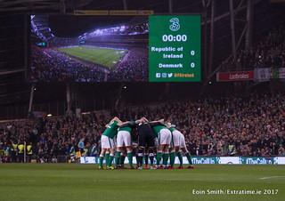 Ireland -v- Denmark