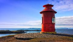 Stykkishólmur Lighthouse, Iceland [Explored Nov 14, 2017] (G_E_R_D) Tags: stykkishólmur stykkisholmur iceland island snæfellsnespeninsula lighthouse leuchtturm harbour harbor hafen