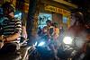 DSCF0473 (idelfons) Tags: fujinonxf27mmf28 fujifilm fujixt1 city urban street driveby saigon sàigòn hcmc scooter moped motorcycle family kid mask helmet lion horror halloween chợlớn vietnam việtnam cholon