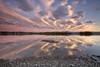 Reflets sur le lac Kénogami (gaudreaultnormand) Tags: canada coucherdesoleil kenogami lac lake longexposure longueexposition quebec sunset ciel paysage calme montagne eau