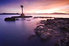 XDSC_5069 (pattana92392) Tags: seawave sea longexposure sunset coast lighthouse