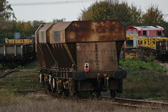 14516 Hoo Junction 101117 (Dan86401) Tags: hoojunction 14516 reda14516 pga tarmac fourwheeled aggregate hopper wagon freight stone