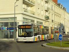 Man Lion's City G n°611 (ChristopherSNCF56) Tags: irigo angers man lions city transport ubrain bus