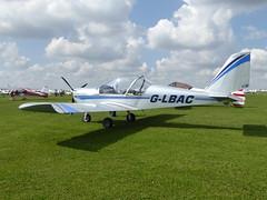 G-LBAC Cosmik Aviation  EV-97 TeamEurostar UK cn 3934 Sywell 02Sep17 (kerrydavidtaylor) Tags: orm egbk sywellaerodrome evektoraerotechnik