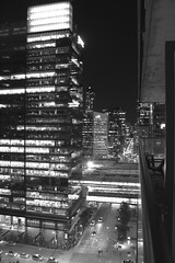 "Toronto Night black and white • <a style=""font-size:0.8em;"" href=""http://www.flickr.com/photos/44801982@N04/38471181066/"" target=""_blank"">View on Flickr</a>"