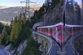 Rhaetian Railway, the Albula line