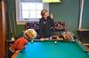 Playing Pool At Colonial (Joe Shlabotnik) Tags: princeton ameliaw colew pool 2017 princetonuniversity billiards everett november2017 afsdxvrzoomnikkor18105mmf3556ged