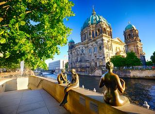 Statues in Berlin, Germany